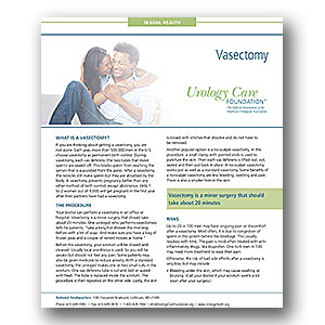 vasectomy-fact-sheet